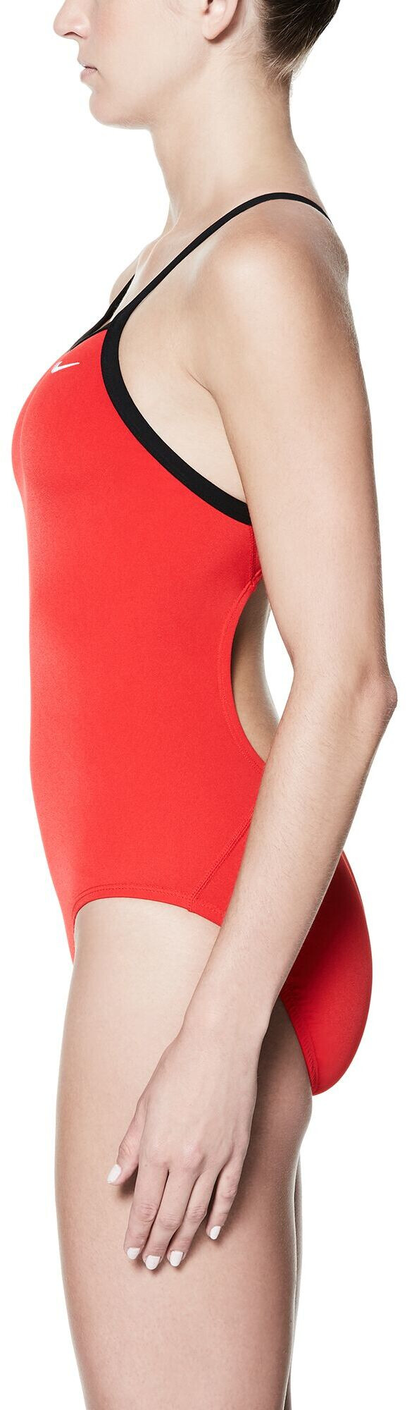 89344b774ac2 Nike Swim Poly Core Solid Racerback One Piece Mujer, university red